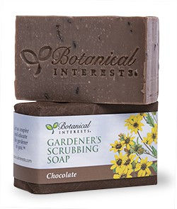 Gardener's Scrubbing Soap Chocolate