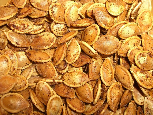 Pumpkins: Roasting Pumpkin Seeds